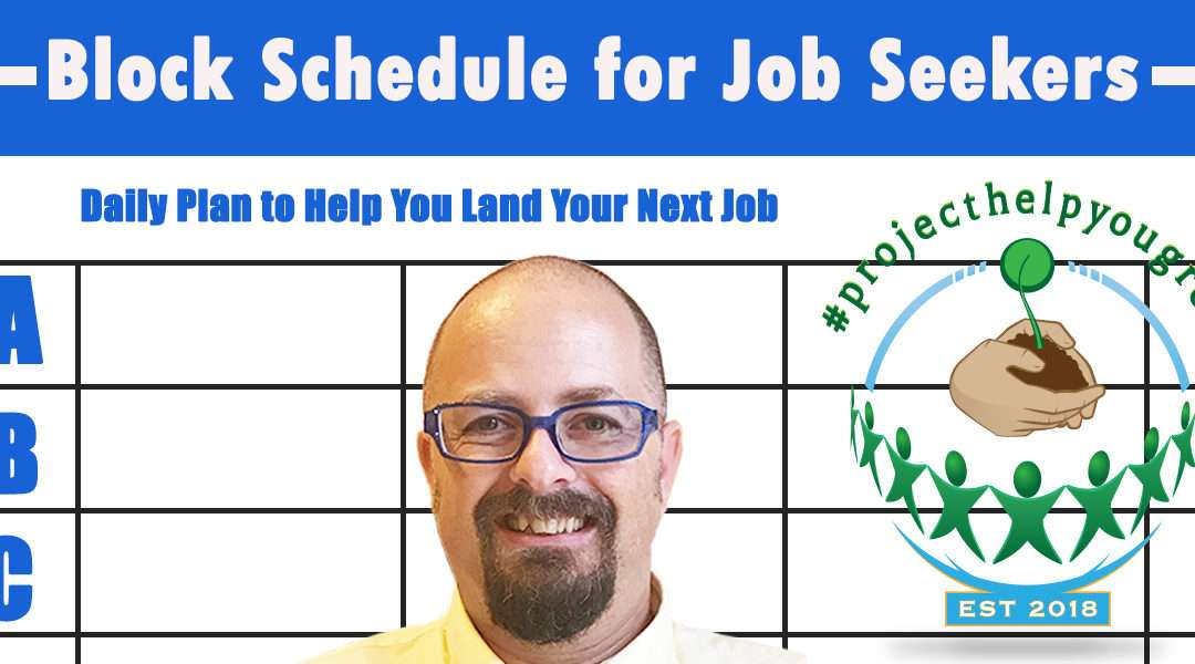 Daily Time Planner for Job Seekers